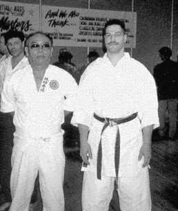 Sensei Morales with Oyata Sensei in Long Island NY